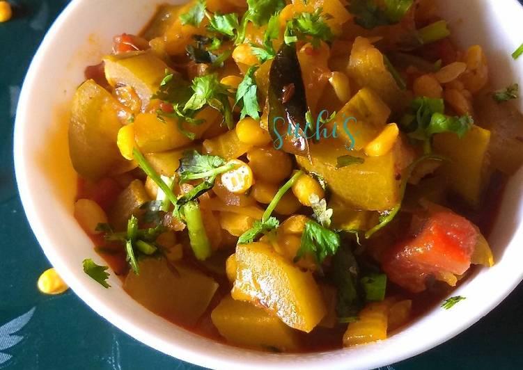 Bottle gourd sabji