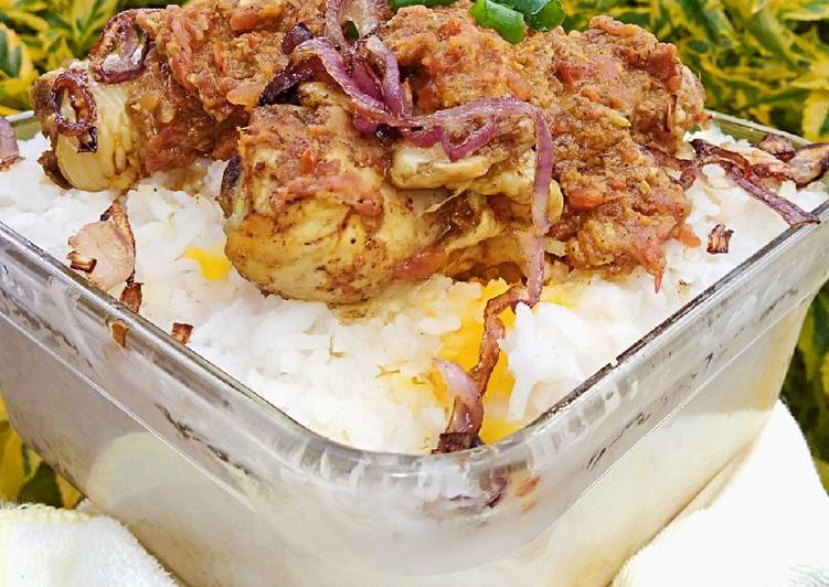Oven baked chicken biryani # delightful baking#team contest
