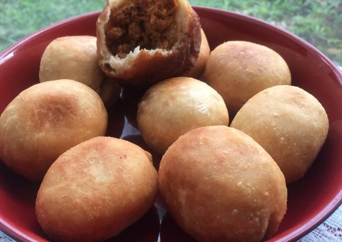 Roti Goreng Isi Abon Sapi