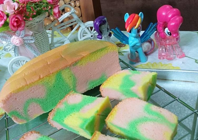 Langkah Mudah Untuk Menyiapkan Unicorn Ogura Cake Lezat Kreasi Masakan