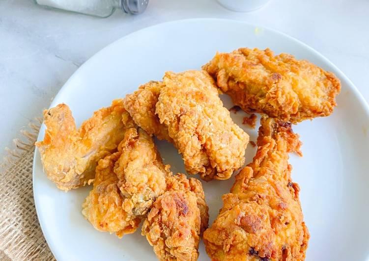 Resep Ayam Crispy Ala Mcd Bikin Ngiler Resep Bunda