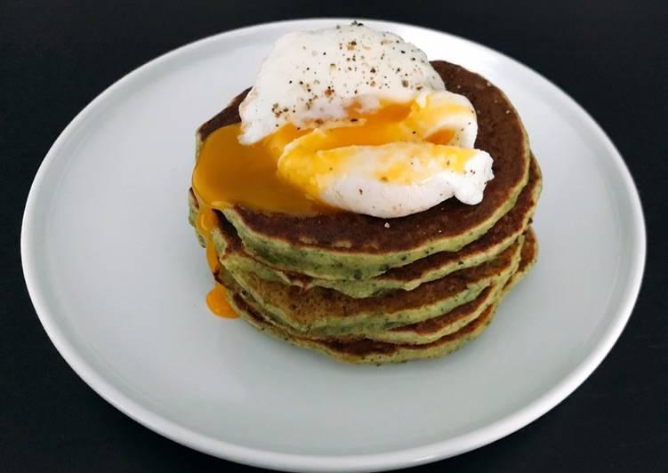 Recette Délicieuse Pancakes de brocolis