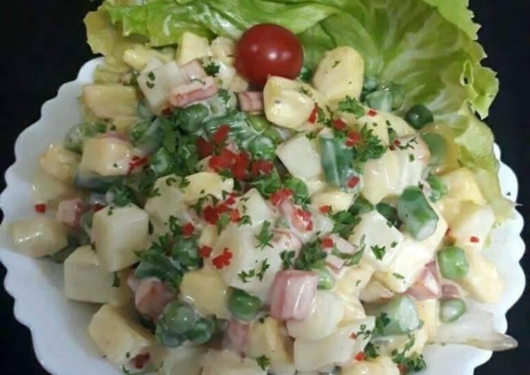 My Christmas Russian Salad