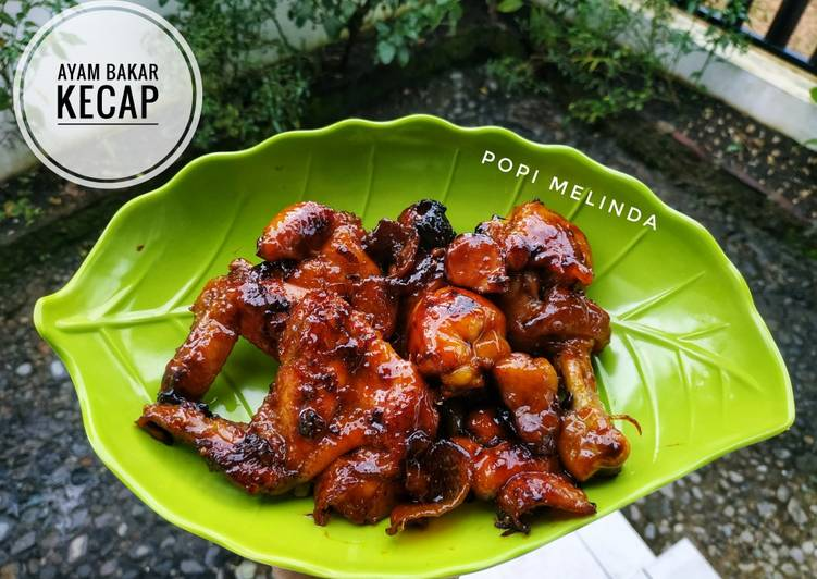 Ayam bakar kecap simple