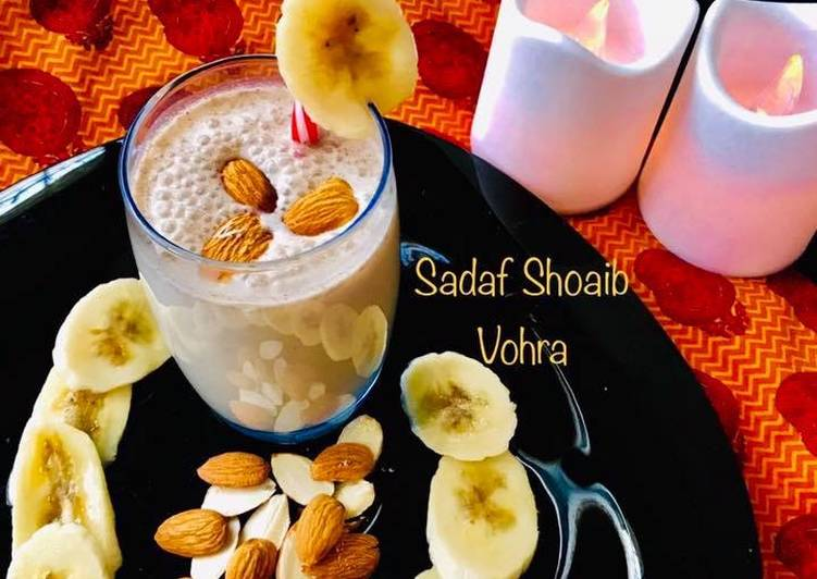 The Best Soft and Chewy Dinner Ideas Winter Banana Oats Smoothie #Ramazankitayari #CookpadApp