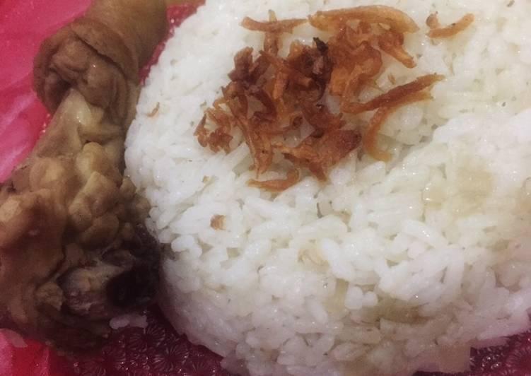 Nasi Kebuli Ayam Masak Rice Cooker