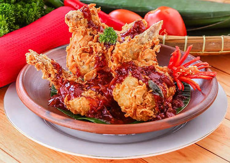 Ayam Krispi Bumbu Bali