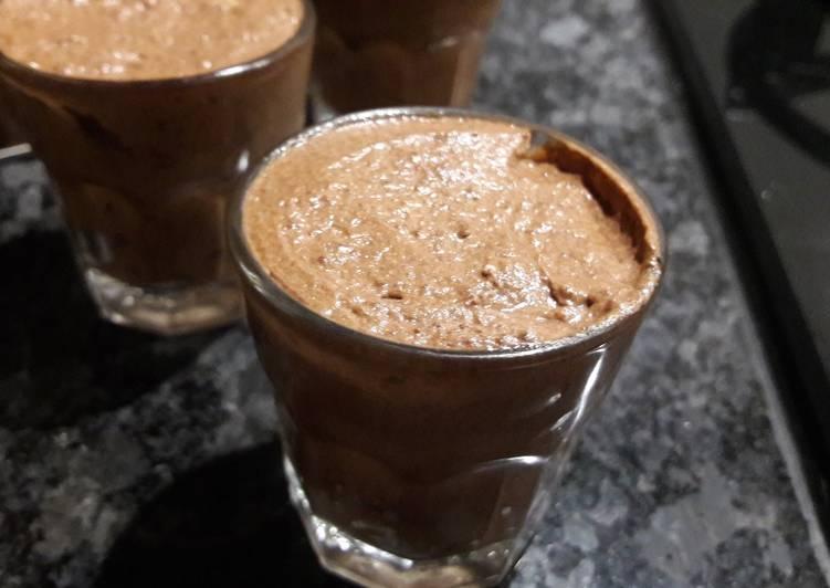 Koffie-choco dessert [keto]