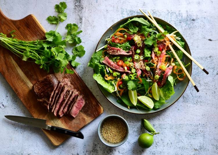 Beef Spring Salad