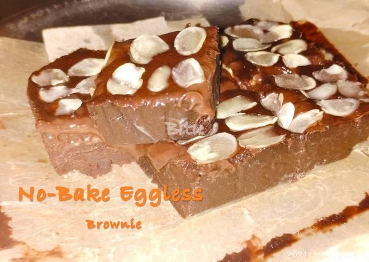 Easiest Way to Make Award-winning No-Bake Eggless Brownie