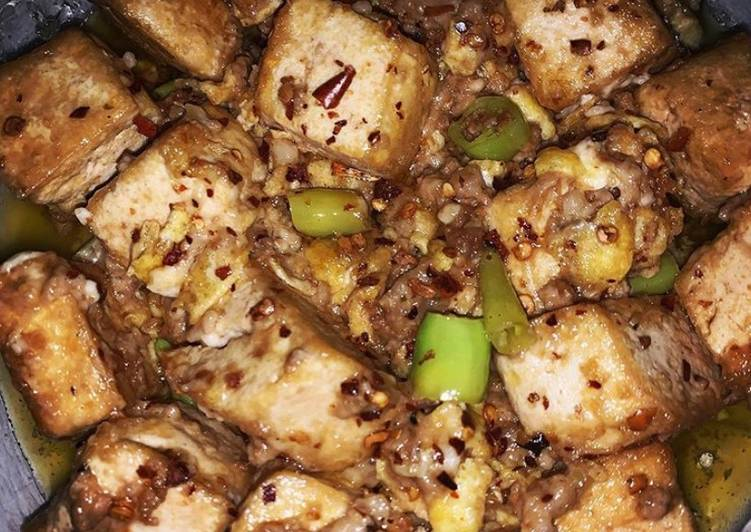 Sizzling Buttered Tofu