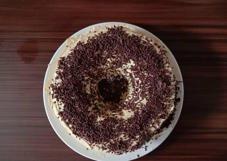 Bolu kukus coklat (takaran sendok)
