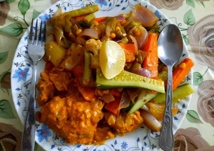 Low Calorie Chicken Vegetable