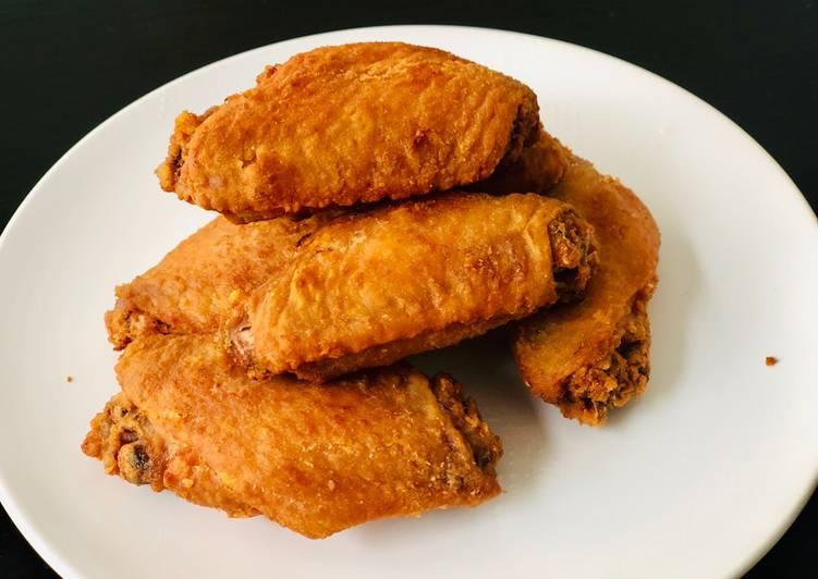 Simple Way to Prepare Quick Fish Sauce Chicken Wings (ปีกไก่ทอดนำ้ปลา)