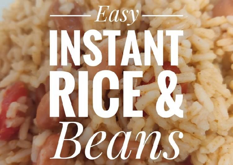 Vegan Instant Rice & Beans