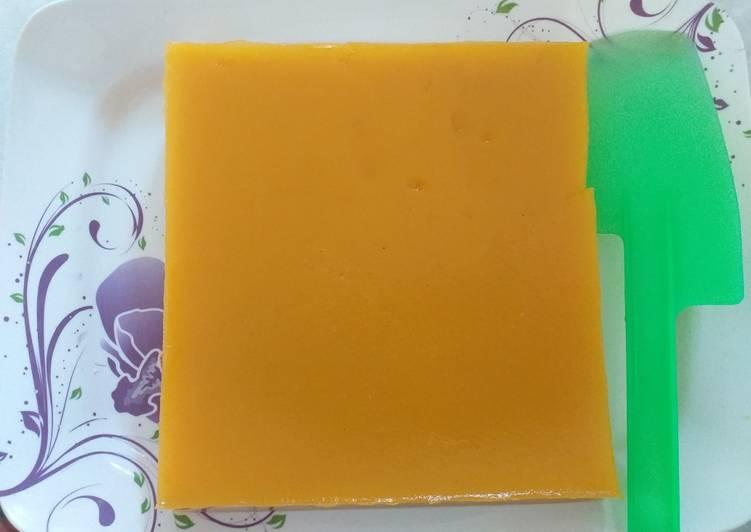 Puding labu kuning