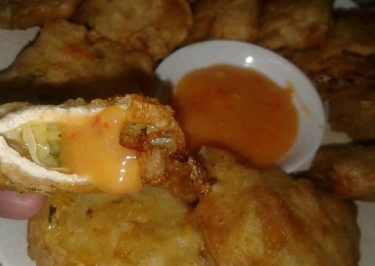 Tahu Hot Homemade with Saos Creamy Yummi