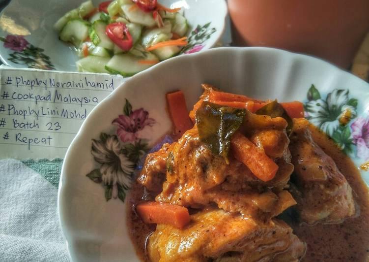 Ayam Masak Merah Utara #phopbyLiniMohd #batch23
