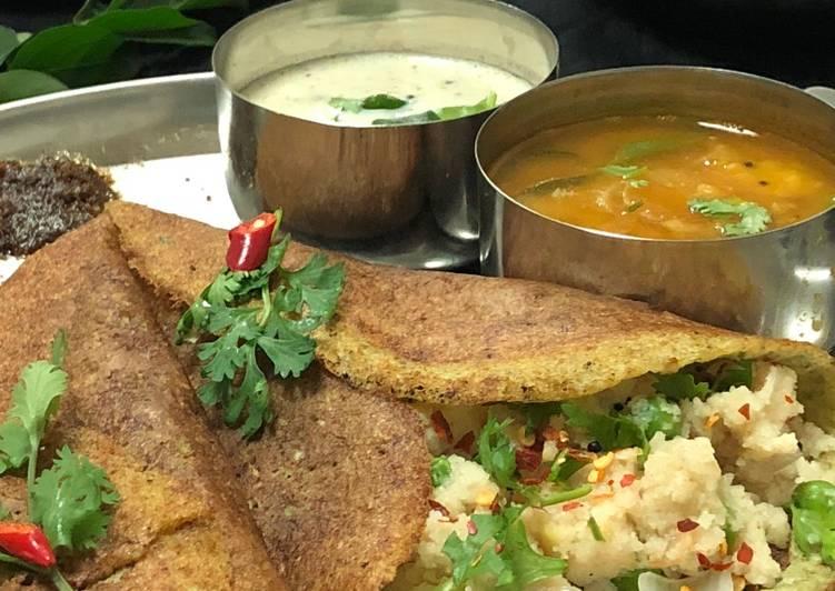 Grandmother's Dinner Easy Blends Upma Pesarattu Dosa