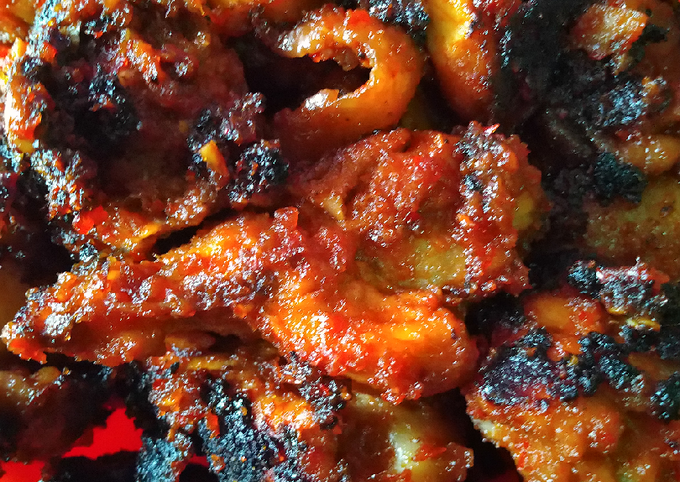 Resep Ayam Bakar Teflon Pedas Gurih Anti Gagal