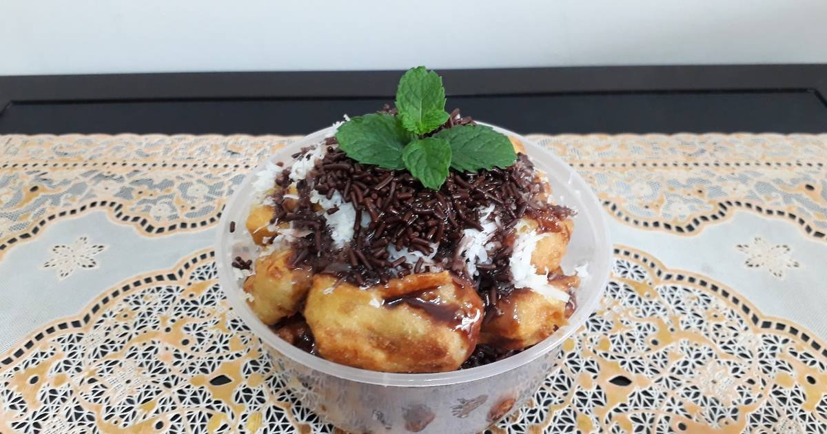 resep pisang keju lumer enak  sederhana ala rumahan cookpad Resepi Pisang Goreng Bali Enak dan Mudah