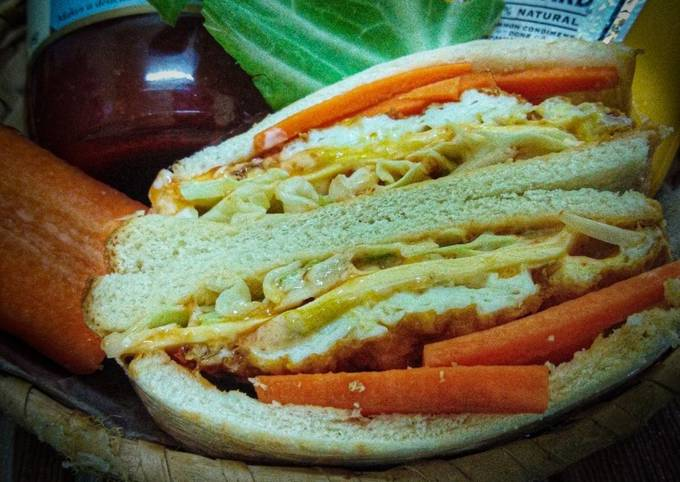 Wanpaku Sandwich Simple Cara Wan