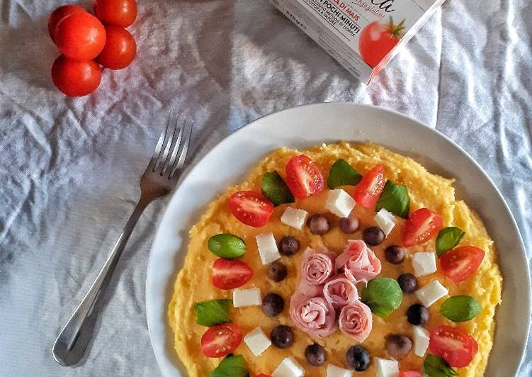 Easiest Way to Prepare Yummy Polenta Summer Pizza