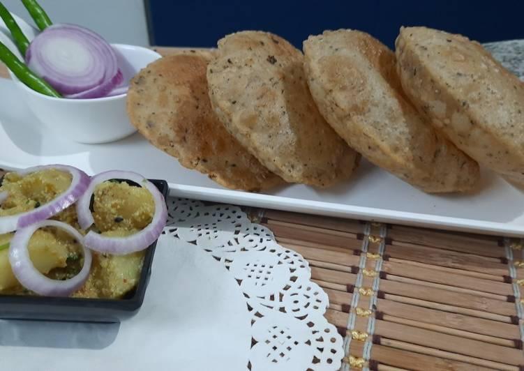 How to Make Award-winning Mixed Herbs Puri
