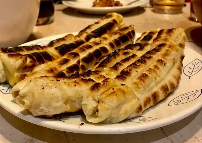 Хачапури на мангале или сыр в тесте на огне🧀