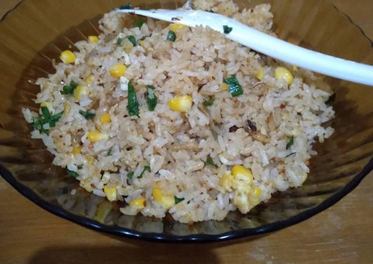 Nasi Goreng Teri Boncabe