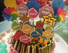 Menghias cake sederhana