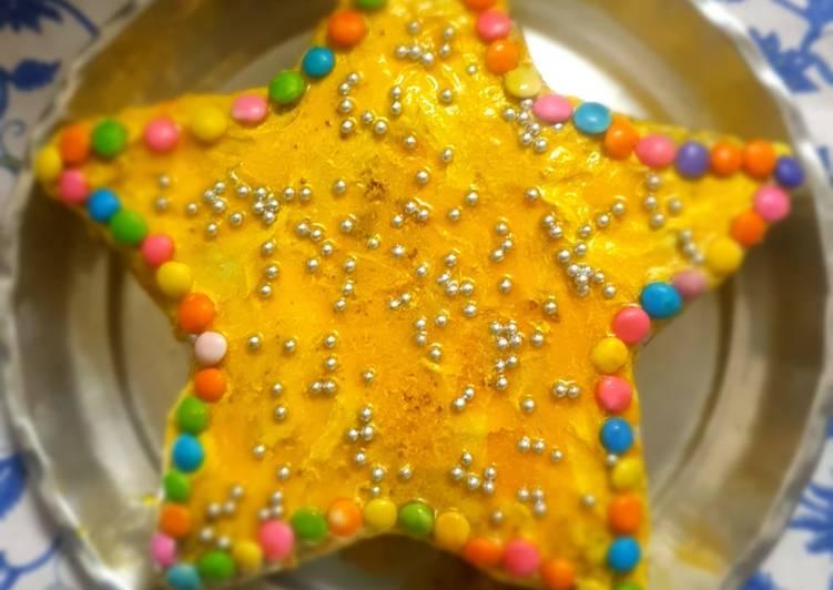 How to Prepare Speedy Star cake aata cake