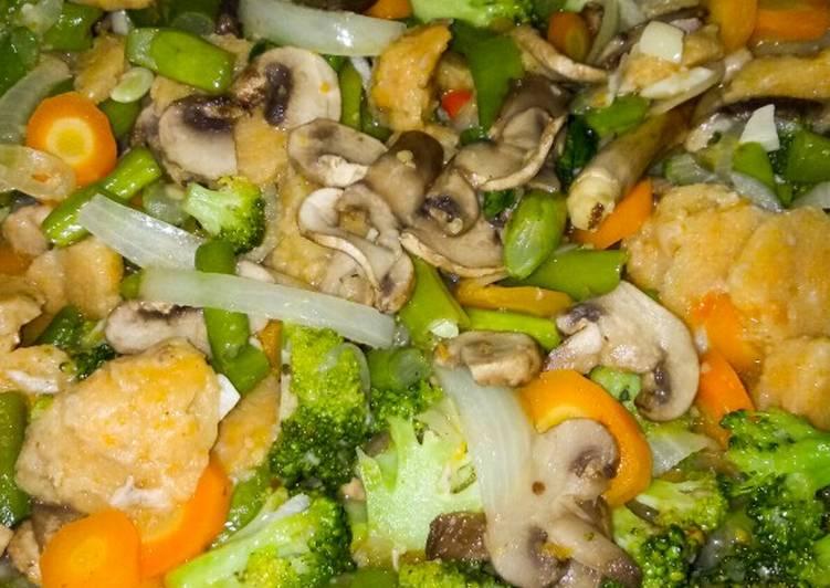 28. Capcay Sayuran Kuah