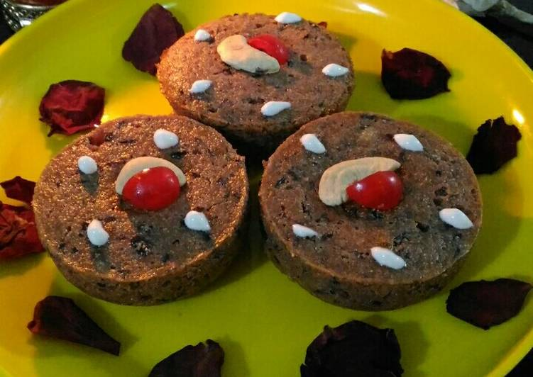 Leftover kheer muffins with chocolate