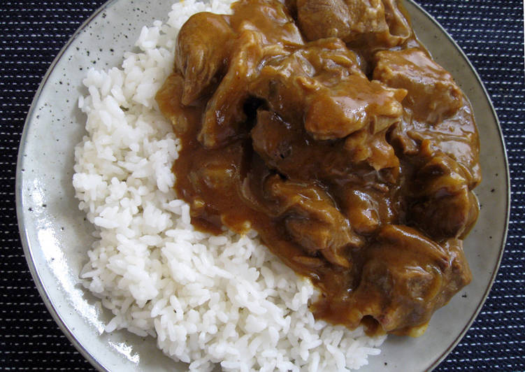 Beef Shank Curry