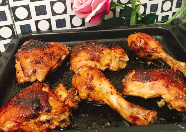 Ayam Bakar Kecap Sederhana