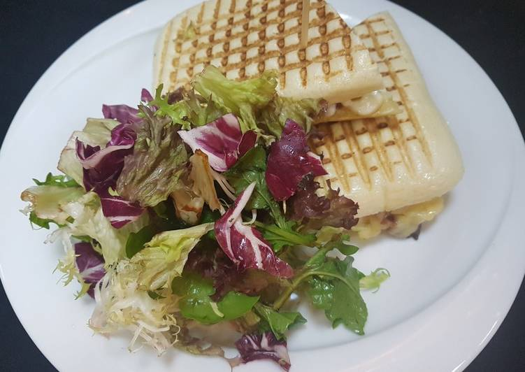 Recipe: Tasty Halloumi sandwich