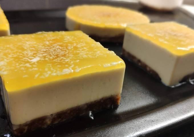 Gâteaux crus citron/coco (vegan)