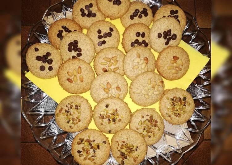 Biscotti integrali al rum