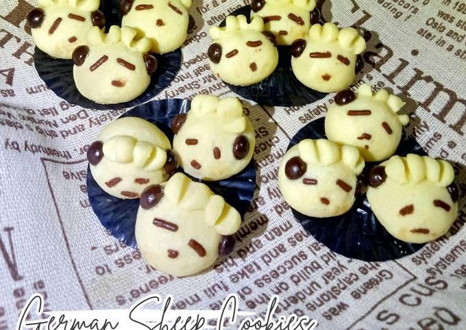 🌸German Sheep Cookies / Kukis Domba