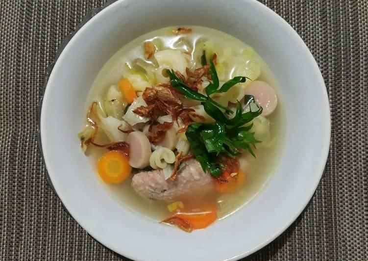 Sup Ayam Makaroni