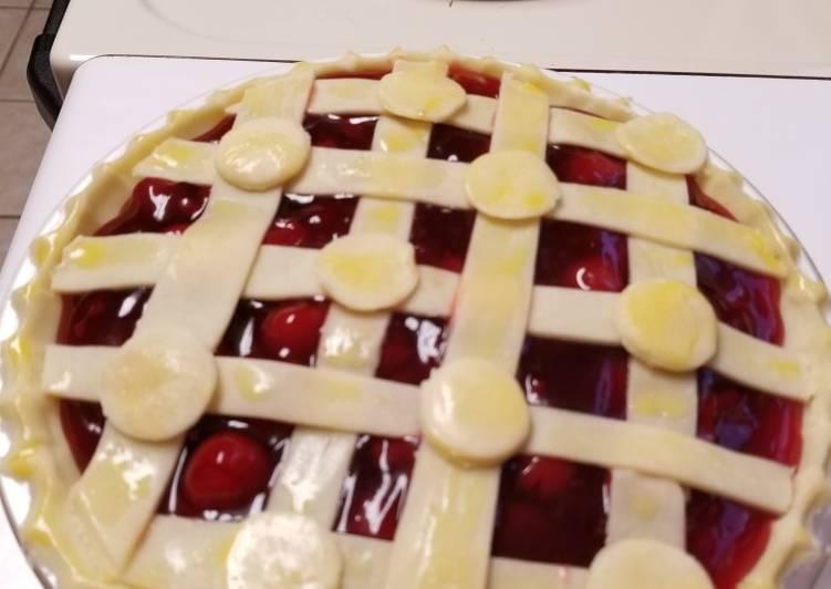 Recipe: Appetizing 'In a Jiffy' Cherry Pie