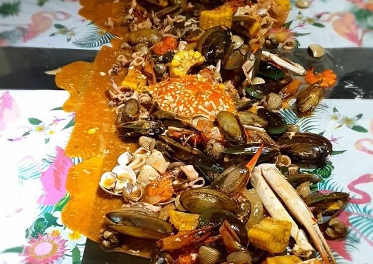 Seafood saos padang
