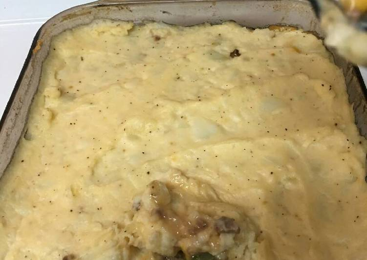 Not so average sheppard pie
