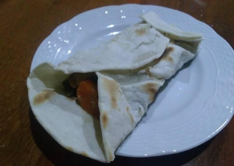 Burritos de cordero braseado