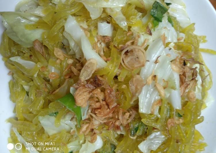 Resep Mie Glosor sambal kacang Paling Mudah