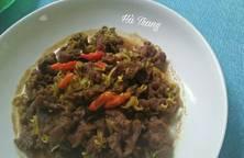 Thịt Bò Kho Sả Ớt