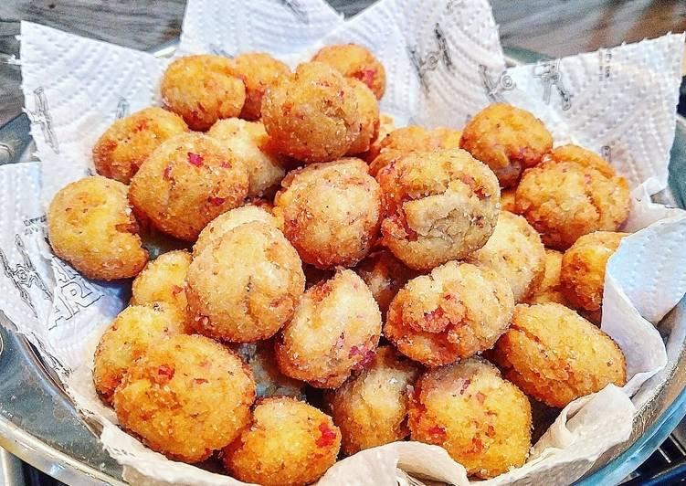Ricetta Polpette Finocchi, Patate e Prosciutto cotto