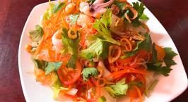 Hình ảnh món Nộm miến hải sản Thái Yum Woon Sen