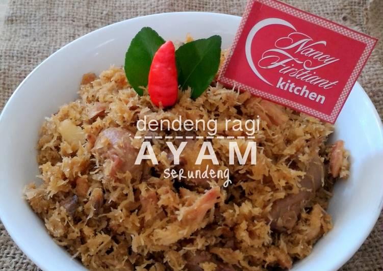 Serundeng Ayam Dendeng Ragi